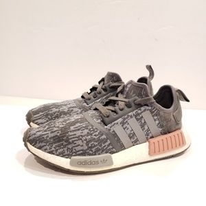 adidas NMD R1 Heather Grey Raw Pink 8
